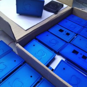 Blue Faceplates